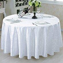 Restaurant Tischdecke Europäische Art Mode Tuch Hotel Rundtisch Tisch Tischdecke Tischdecke Tischdecke decke ( Farbe : #4 , größe : 180*180 Cm )