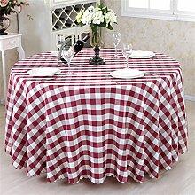 Restaurant Tischdecke European Style Gittertuch Hotel Rundschreiben Tisch Tischdecke Restaurant Tischdecke Tischdecke decke ( Farbe : #4 , größe : Round 320cm )