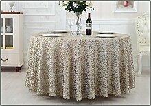 Restaurant Tischdecke Hotel Tischdecke Restaurant im europäischen Stil Hotel Tischtuch Wohnzimmer Tisch Tisch Tisch Tischdecke Tischdecke decke ( Farbe : C , größe : 3# )