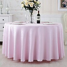 Restaurant Tischdecke Pastoral Runder Tisch Tisch Tuch Tuch Hotel Tischdecke Hotel Große Runde Tischdecke Couchtisch Hochzeitsfeier Tischdecke Tischdecke decke ( Farbe : F , größe : 9# )