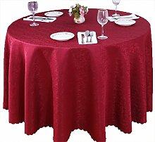 Restaurant Tischdecke Runder Tisch, Tischdecke, Tuch, Restaurant, Hotel, Esstisch, Couchtisch, Blumen, Bankett, Tischdecke, langlebig Tischdecke decke ( Farbe : #4 , größe : 220cm )