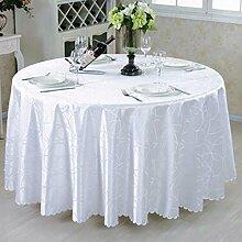 Restaurant Tischdecke Runder Tischtuch European Style Pastoral Tisch Tischdecke Stoff Tisch Tischdecke Couchtisch Stoff Stoff Stoff Runde Tischdecke decke ( Farbe : A , größe : Round 360cm )