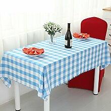 Restaurant Tischdecken/Hotel Tischdecken/Grüne rote Couchtisch-Tuch/ schwarz-weiß karierten Tischdecke/Garten-Tischdecke/Tischdecke decke-A Durchmesser180cm(71inch)