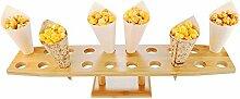 Restaurantware RWB0194 Bamboo Cone Stand, bambus