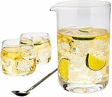 Restaurantware RWG0052 Rührglas, ca. 300 ml,