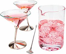 Restaurantware RWG0053 Rührglas, ca. 300 ml,