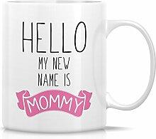 Retreez Funny Tasse–Hello My New Name Is