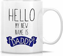 Retreez Funny Tasse–Hello My New Name ist