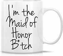 Retreez Funny Tasse–I 'm The Maid of