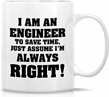 Retreez Funny Tasse–Ich bin ein Ingenieur