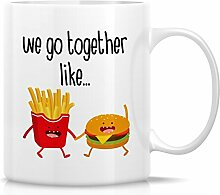 Retreez Funny Tasse–We Go Together Like