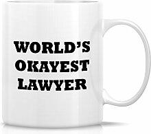 Retreez Funny Tasse–World 's Okayest