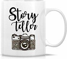 Retreez Lustige Tasse – Geschichtenerzähler