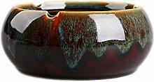 Retro Aschenbecher Kreative Blumen Keramik