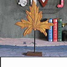 retro Aus Holz Ahorn Form anzeigen Dekoration-B