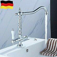 Retro Badarmatur Wasserhahn YUNRUX hoch