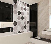 Retro Badezimmer Rollo-Duschvorhang extra lang,
