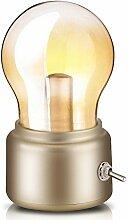 Retro Birne Lampe USB wiederaufladbare LED
