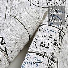 Retro Buchstaben, Holz, Holz, Tapete, American