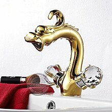 Retro Deluxe Fauceting Farbe Gold Dragon design