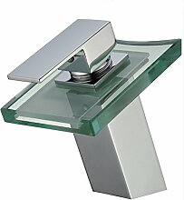 Retro Deluxe Fauceting LED Glas Wasserfall