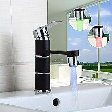 Retro Deluxe Fauceting LED Wasserhahn LED