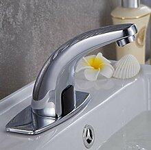 Retro Deluxe Faucetinging Bad Einloch Waschbecken
