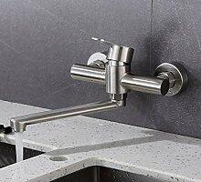 Retro Deluxe Faucetinging Wasserhahn Edelstahl