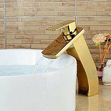Retro Deluxe FaucetingLuxury Gold Waschbecken