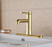 Retro Deluxe FaucetingNew Golden Brass Waschbecken