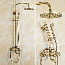 Retro Duschsystem, Auralum Duscharmatur mit