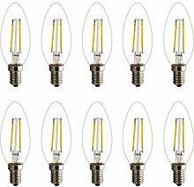 Retro E14 LED Lampe Kerzenform Filament E14
