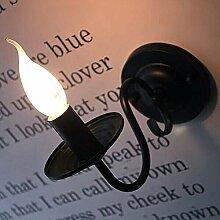 Retro E14 Wandleuchte Klassisch Eisen Wandlampe