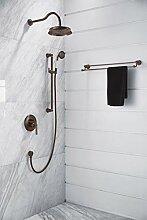 RETRO Einhand-Duschbatterie Unterputz mit Brausegarnitur Dusch-Armatur Unterputz SYS AM20 ORB