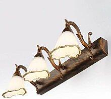 Retro Eisen Flur Wandlampe Bett Außenspiegel