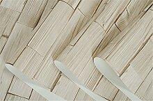 Retro Holz simulierten Holz Maserung Nachahmung Holz Garten Tapete Chinese Restaurant Restaurants Hotels den wall-papers