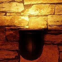Retro Industrial Pipe Wandleuchte gang Flur bar KTV Dekoration LOFT Lampe kreative LED Energiesparende Wandleuchte Innenraum, 8*10 cm