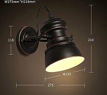 retro - industrie - windkanal wand lampe