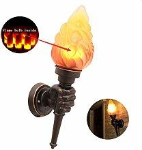 Retro Industriedekorationsfackel-Wandlampe,