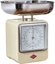 Retro Küchenwaage mit Uhr