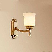 Retro Kupfer Wandlampe Hauptdekoration Wohnzimmer