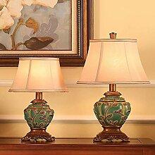 Retro Lampe Schlafzimmer Wohnzimmer Studie Stoff