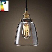 Retro Lampe Vintage Edison Industrie Esstisch
