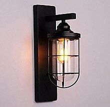 Retro Lampen Wandlampe einfache schwarze