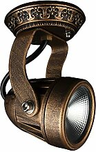 Retro LED Wandleuchte, Vintage LED-Spot, Badlampe,
