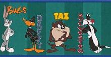 Retro Looney Tunes Disney Cartoon Tapete