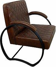 Retro Lounge Chair leder Sessel 20er Jahre VINTAGE Clubsessel Loungesessel