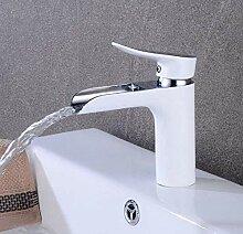 Retro Mischerhahn Wasserhahn Malte Weißen