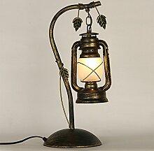Retro Nostalgie Petroleumlampe Eigenschaften Café-Bar kreative Wohnzimmer Lampen Schlafzimmer Kerosinlaterne