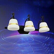 Retro Nostalgischen Stil Spiegel Lichtspiegel Lichtspiegel Lichtspiegelschrank Beleuchtung Chinesisch,A
